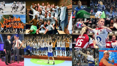 GODE KANDIDATER: Her er ti gode kandidater til «Årets idrettsnavn».