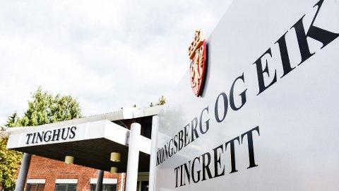 FIKK STRAFFERABATT: Mannen ble i Kongsberg og Eiker tingrett dømt til seks måneder i fengsel.