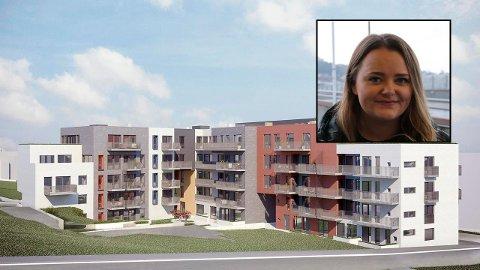 Her har Helene Mile kjøpt seg ny leilighet.
