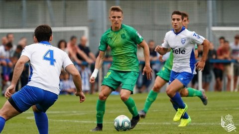 HERJET: Ingen i den spanske toppdivisjonen kan matche tallene til Martin Ødegaard etter Real Sociedad-debuten.