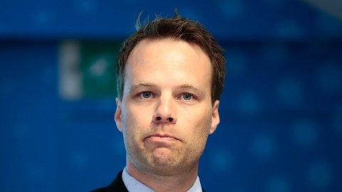 HARDT UT: Jon Helgheim (Frp) kritiserer politikere som ikke tørr å kritisere islam.  Foto: (Lise Åserud/NTB scanpix)