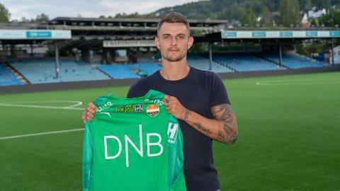 Martin Hansen (29) er klar for Strømsgodset. Han tror klubben vil berge plassen i eliteserien.