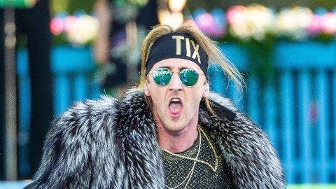 NY JOBB: Andreas «Tix» Haukeland har fått ny jobb som «Idol»-dommer i den kommende sesongen. Her er han avbildet under «Allsang på grensen» i sommer.