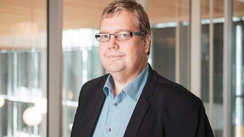 Åge-Christoffer Lundeby, kommunikasjonssjef Vy.