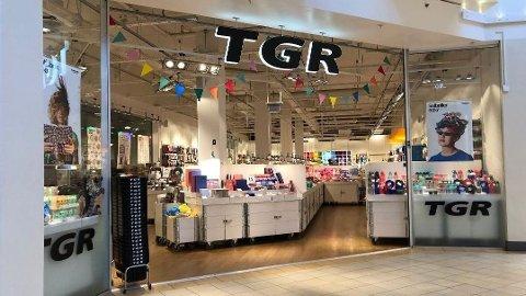 SLITER: TGR, som blant annet har to butikker i Drammen,  selger varer i kategorien «bredt vareutvalg» i konkurranse med kjeder som Søstrene Grene, Europris og Normal. De to siste årene har vært blytunge for TGR i Norge.