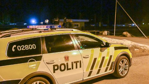 Politiet rykket ut til Åmot sent torsdag kveld.