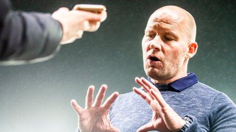 FERDIG: Henrik Pedersen fortsetter ikke som Strømsgodset-trener. Foto: Trond Reidar Teigen (NTB)
