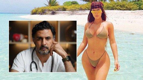 LEGE ADVARER: «Slankemiddelet» Apetamin promoteres på TikTok som en kjapp måte å oppnå Kardashian-figuren på. Motsatt mener lege.