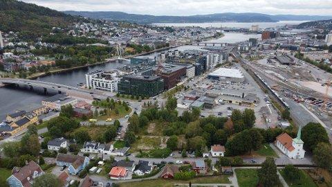PLANLAGT PROSJEKT SIDEN 2018: I Kreftingsgate og Sundhauggata planlegger AKA å bygge mellom 65 og 70 leiligheter.