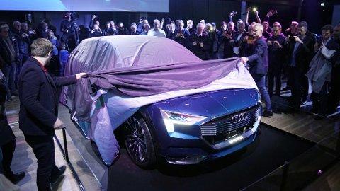 Audi har akkurat avduket sin konseptversjon av elbilen e-tron i Norge.