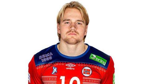 Magnus Fredriksen skal spille for Norge i håndball-VM i januar.