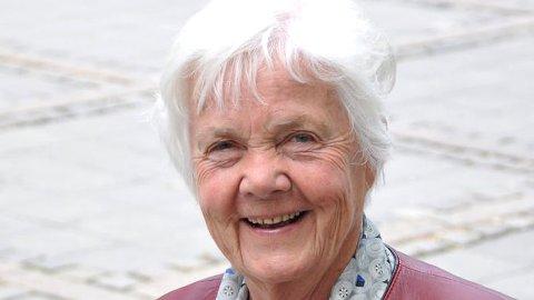 KOMMER: Astrid Nøklebye Heiberg (82).