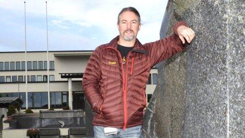 ORDKNAPP: Jørgen Firing tør ikke juble før kommunestyret har sagt sitt 11. april.