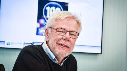 TAKKER AV: Administrerende direktør Lars Andresen har bedt om avløsning som sjef i Øvre Eiker Energi
