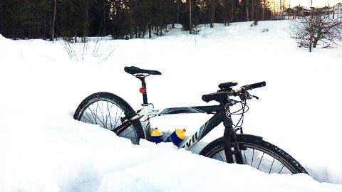 KREVENDE: Om to uker er det et internasjonalt terrengtitt på sykkel i regi av Fiskum IL.