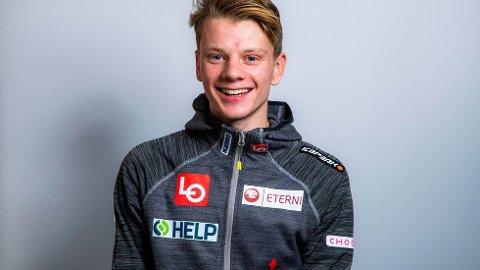 Hoppukedebutant Anders Haare  kvalifiserte seg med hopp på 124,5 meter.