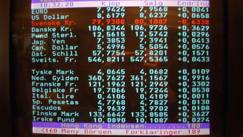TV 2s gamle tekst-TV-tjeneste, som nå er lagt ned. GET sier det ikke er tekst-TV i deres nye dekodere. Foto: Per Løchen/scanpix