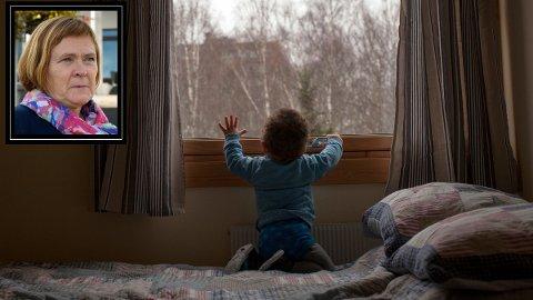 ØKER OG ØKER: Barnevernet i Øvre Eiker må ta hånd om stadig flere barn. Det gjør at budsjettet sprekker solid for femte år på rad, bekrefter Else Berit Kyte.