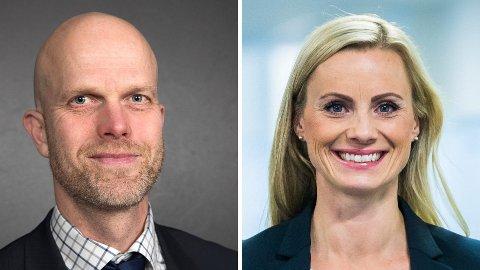 EKSPERTER: Hallgeir Kvadsheim og Silje Sandmæl er eksperter på privatøkonomi.