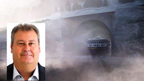 PROSJEKTLEDER: − Et spennende, utfordrende og viktig prosjekt, sier Terje Skjeppestad Fra Hokksund. Han begynte i stillingen som prosjektleder 3. august.