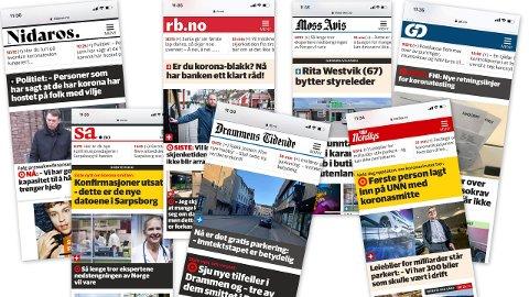 Abonnentene til Enebakk Avis får nå tilgang til alt stoff fra Amedias aviser. Det blir ikke noe tillegg i abonnementsprisen.