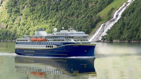 HAVILA KYSTRUTEN: Havila skal etter planen drifte fire skip langs norskekysten fra 2021. Om de kommer i mål til den tid gjenstår å se.