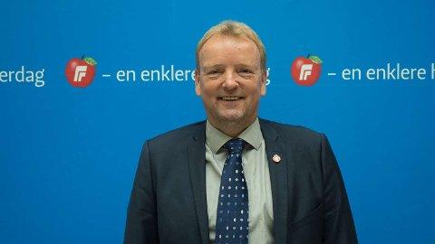 Terje Halleland, stortingsrepresentant, Fremskrittspartiet