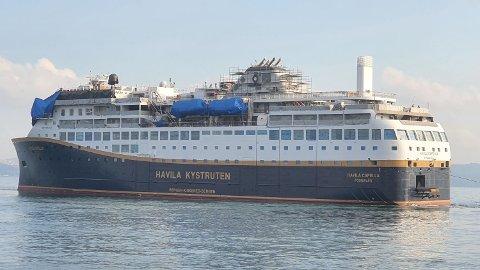 FORSINKET: Flere av skipene til Havila skulle vært i drift langs norskekysten, men er forsinket