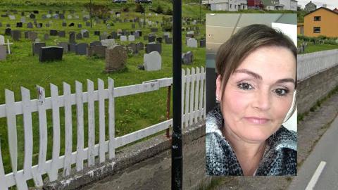 Kirkegården i Nordvågen har et gjerde som ikke er i god stand - Jeg håper på fortgang, forteller Bjørg Else Dagfinnsdatter Holst som er initiativtakeren for SPLEIS-aksjonen som nå er satt i gang.