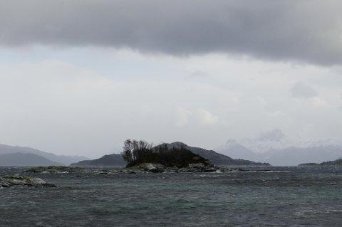 Vinden tok godt på Sørstrand i dag.