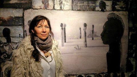 Kunstnar Ane Sommerstad sine skulpturar symboliserer sårbarheit. Men også styrken når fleire brenn for noko saman.
