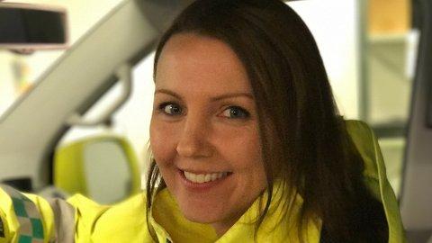 UNIK: Cecilie Merethe Øvrebotten er den einaste i fylket, og ein av berre 15 i Skandinavia med ein mastergrad i prehospital akkuttmedisin.