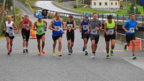 Eikefjord løpskarusell september 2018