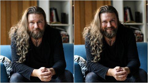 HEIME: Thomas Øvstedal heime i Svelgen.