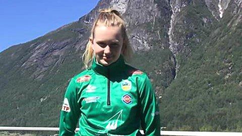NYE EVENTYR: Andrine Olsen Endestad skal score mål for Kaupanger heretter.