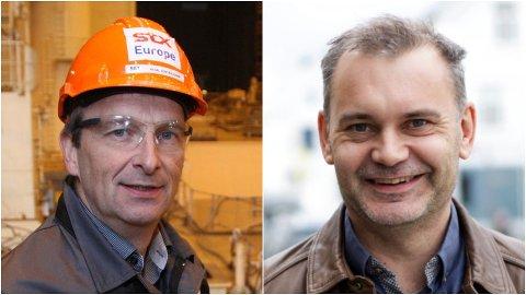 SAMSTEMDE: FIN-leiar Gustav Johan Nydal og ordførar Ola Teigen