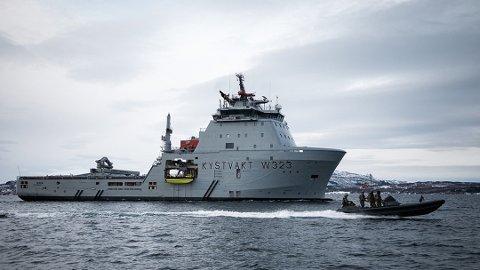 KYSTVAKTA: Dei neste tre åra skal sju av skipa til Kystvakta få gjennomført vedlikehald hos Westcon Yard. Hovudsakleg ved verftet i Florø.