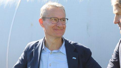 OPTIMIST: Han slit med nasjonale trendar og at partiet sitt er prega av regjeringsslitasje, men Olve Grotle (H) meiner ein sluttspurt kan gi han fast plass på Stortinget 13. september.