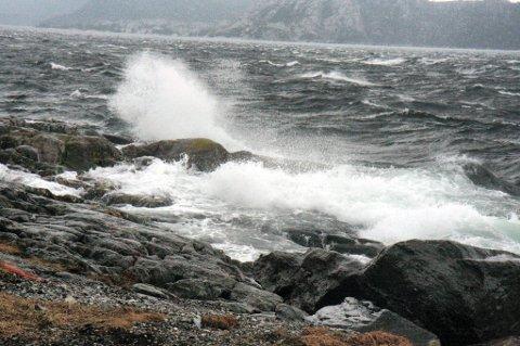 HAUSTSTORM: Helga byr på kraftig regn og vind.