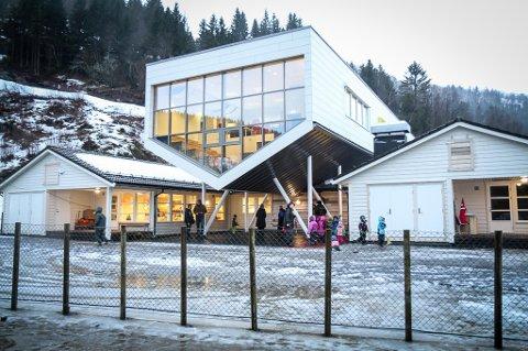 OPNAR NESTE VEKE: Lunden barnehage i Naustdal er blant barnehagane som opnar mandag.