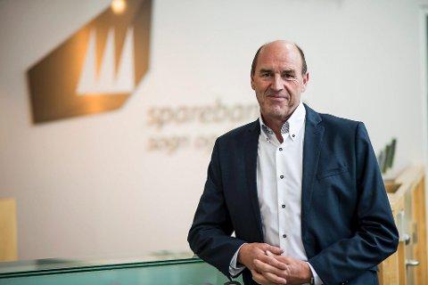 SER DET POSITIVE: Arvid Andenæs.