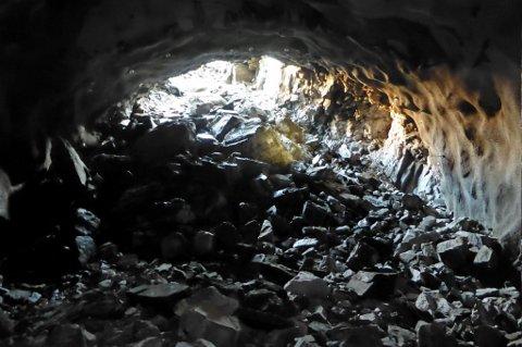 Slik såg det ut då dei fekk gjennomslag i Øsklandstunnelen