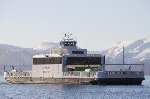 MF Stavanger stettar Statens vegvesens krav, men det er ikkje nok til å ta unna trafikken dersom mange fullasta vogntog vil ombord.