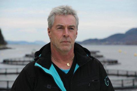 DRIVKRAFT: Ingvar Osland har vore sentral i utviklinga av Flokenes Fiskefarm AS, og han og familien er blant dei største eigarane.