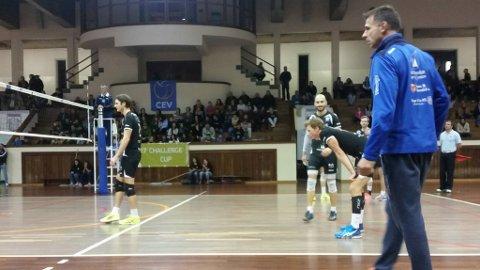 Jan Egil Tvinde meiner det var ein tung volleyball-kveld i Portugal.