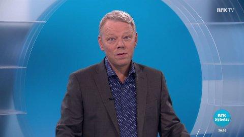 TRE: Frå januar blir det tre distriktssendingar på NRK. Her frå Vestlandsrevyen med Jan Børge Leirvik.