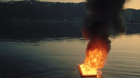 LOVLEG: – Eg gler meg til å sjå kva serien blir for noko, seier Hallgeir Hansen.