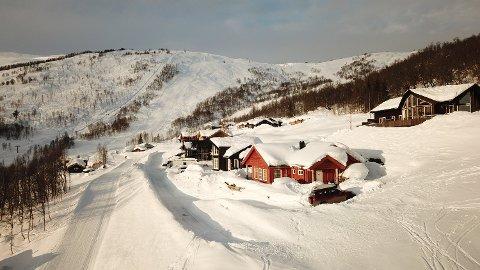 POPULÆRT HYTTEFELT: Kvart år blir det sett opp 10-20 nye hytter på Hodlekve, ifølge dagleg leiar på skisenteret der, Per Odd Grevsnes.