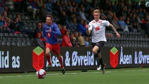 TILBAKE: Martin Ove Roseth er no signert for to år. 21-åringen har vore i Sogndal på utlån to gonger tidlagare.