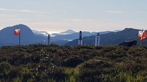 MÅLGANG: Spetaktulær målgang på Ramsdalsheia!